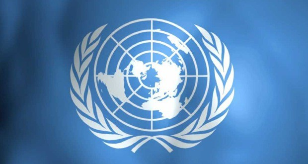 United Nations flag cover